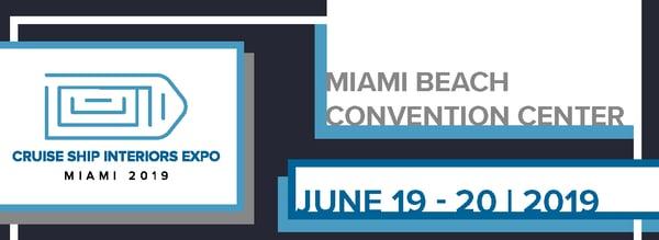Cruise Ship Interiors Expo Miami 2019